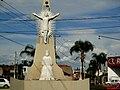 Estátua na Rotátória, perto da Igreja da Lapa - panoramio.jpg