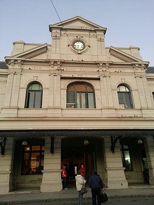 Bahía Blanca Sud railway station - Image: Estación Bahía Blanca Sud Frente 1