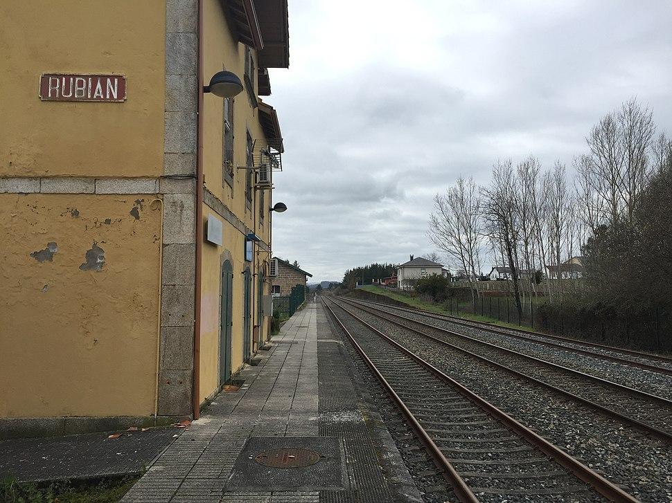 Estación de Rubián
