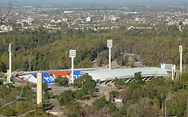 Estadio Malvinas Argentinas.