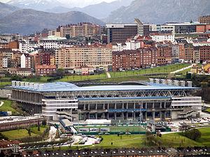 Estadio Carlos Tartiere - Image: Estadio Municipal Carlos Tartiere (Real Oviedo S.A.D.)