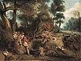Eugène Delacroix - Die Sauhatz (nach Rubens) - 8717 - Bavarian State Painting Collections.jpg
