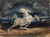 Eugene Delacroix - Horse Frightened by Lightning - Google Art Project.jpg