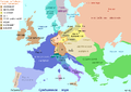 Europe map 1812-14 in Rus.png