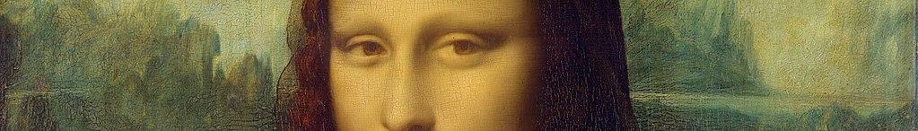 European art banner Mona Lisa