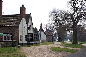 Euston, Suffolk - Image: Euston, Suffolk geograph.org.uk 42081