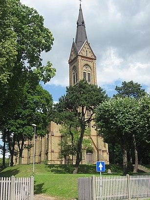 How to get to Torņakalna Baznīca with public transit - About the place