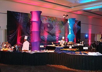 Catering - A professionally catered event