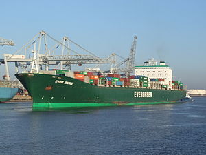 Ever Divine IMO 9134282 p1, at the Amazone harbour, Port of Rotterdam, Holland 15-Dec-2007.jpg