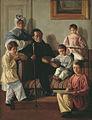 Evgraf Krendovskiy - A.A. Bashilov with family.jpg