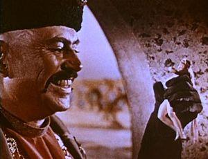 Captain Sindbad - El Kerim uses magic for evil: evil pleasure, evil self-protection, and evil self-aggrandizement