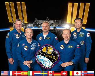 Expedition 22 - Image: Expedition 22 crew members