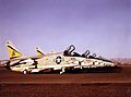 F-8K Crusaders of VF-302 on the flightline.jpg
