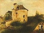 F. Treml, Stadtmauer um 1840.jpg