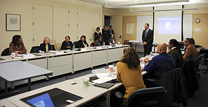 Washington, DC, December 3, 2008 -- FEMA Admin...