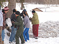FEMA - 40326 - Residents work in the snow to build a sand bag wall in Fargo, North Dakota.jpg