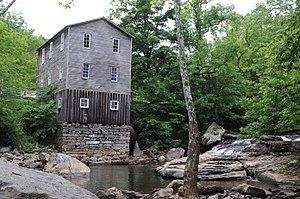 National Register of Historic Places listings in Upshur County, West Virginia - Image: FIDLER'S MILL, ARLINGTON, UPSHUR COUNTY, WV