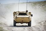 FUCHS reconnaissance vehicle being put through its paces by Falcon Squadron Royal Tank Regiment MOD 45160053.jpg