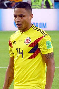 FWC 2018 - Round of 16 - COL v ENG - Luis Muriel.jpg