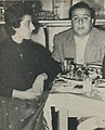 Fairuz and her husband Assi Rahbani - 1955.jpg