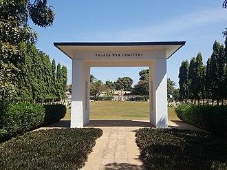 Fajara - Image: Fajara War Cemetery Gambia