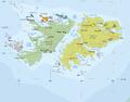 Falkland Islands regions map (he).png