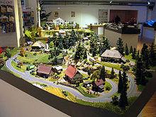 Ho Model Train Buildings