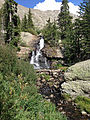 Falls below Willow Lake.JPG