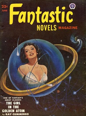 Fantastic Novels - Fantastic Novels ended without notice with the June 1951 issue.