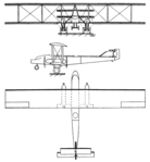 Farman BN.4 3-view Les Ailes December 8,1921.png