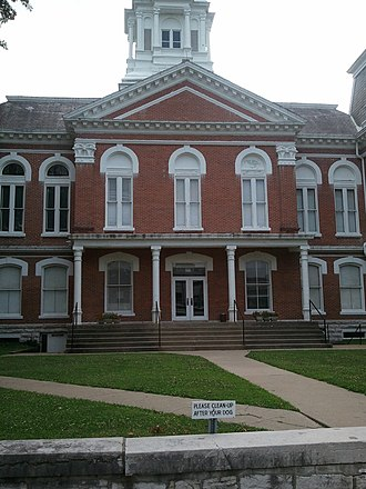 Fayette, Missouri - Image: Fayette, Missouri Town Square 7 16 2011