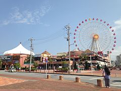 Ferris wheel in Mihama Town Resort American Village 4.JPG
