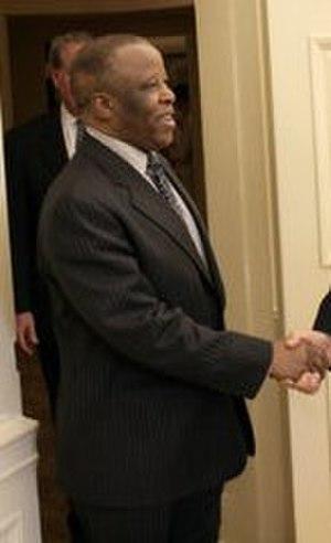 Botswana general election, 2004 - Image: Festus Mogae 2005