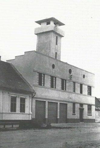 Bački Brestovac - Image: Feuerwehrturm