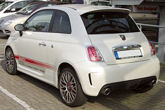 GTI Club+: Rally Côte d'Azur - The Fiat 500 Abarth is available through DLC.