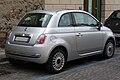 Fiat 500 silber Heck.JPG