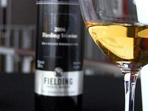 Ice wine from the Niagara region