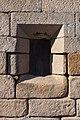 Fiestra do santuario da Virxe do Camiño. Muros. Galiza. 2015.jpg