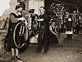 Final touches put to bicycles at Hercules bicycle factory, Birmingham, 1931.jpg