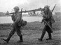 Finnish Armoured Jägers carrying a Lahti L-39 anti-tank gun, 1941 (cropped).jpg