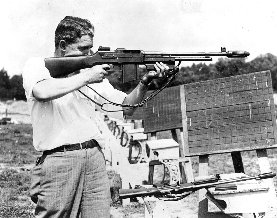Firearms practice, 1936