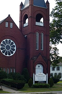 First Congregational Church, United Church of Christ church building in Maine, United States of America