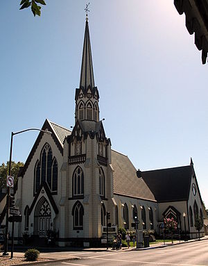 First Presbyterian Church (Napa, California) - Image: First Presbyterian Church, 1333 3rd St., Napa, CA 9 5 2010 3 20 46 PM