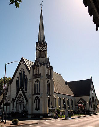 California Historical Landmarks in Napa County - Image: First Presbyterian Church, 1333 3rd St., Napa, CA 9 5 2010 3 20 46 PM