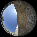 Fisheye lenses - Canon- Vakil Mosque -shiraz-Iran 04 عکس فیش آی (چشم ماهی) از ایوان اصلی مسجد وکیل شیراز (cropped).jpg
