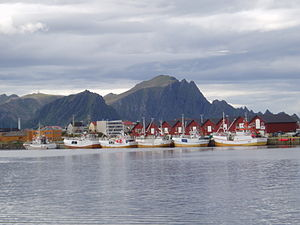 Andenes - View of the local fishing boats