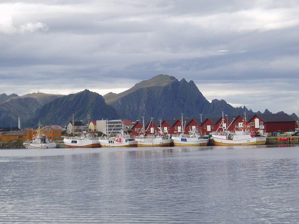 Fishing Boats, Andenes