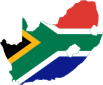 Flag-map of South Africa.svg