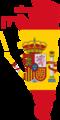 Flag map of Gibraltar (Spain).png