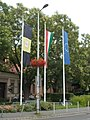 Flagpoles, Hősök Square, 2017 Soroksár.jpg